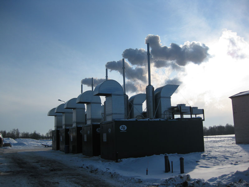 <p>Cogeneration modules for multi purposes</p>